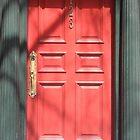 red door: one, two, three. by Erik Lopez
