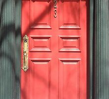 red door: one, two, three. by Erik Lopez