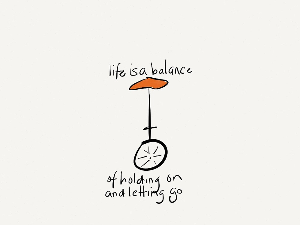 Life Is A Balance by Pamela Shaw