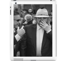 Barry Gibb at Redcliffe 2013 iPad Case/Skin