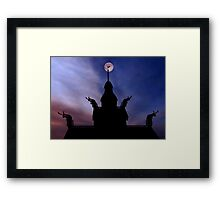 Chapel In The Hills 2 Framed Print