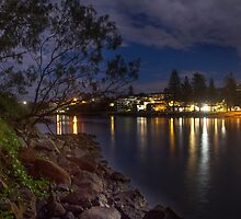 Cudgen Creek - Kingscliff by Ron Finkel