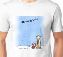 calvin and hobbes holiday  Unisex T-Shirt