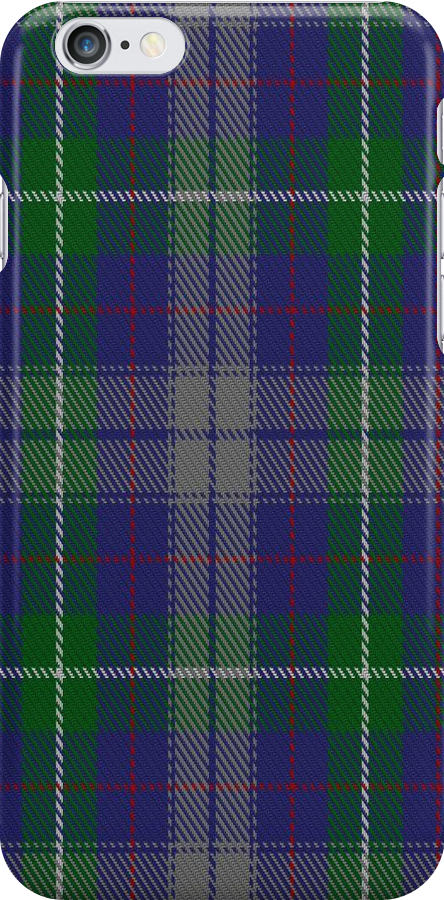 01558 American Society of Travel Agents Tartan Fabric Print Iphone Case by Detnecs2013
