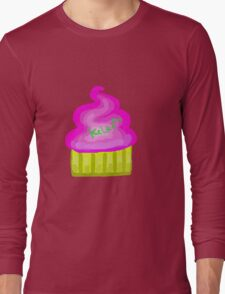 Channel Logo CupCake suger Long Sleeve T-Shirt