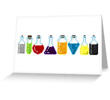 Pixel Potions Greeting Card