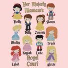 Grandma Mommy Disney Princess Prince Personalized by sweetsisters