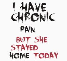 chronic pain 1 by Gale Distler