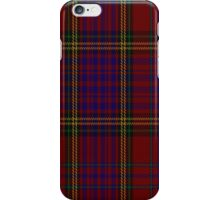 01570 Anderson of Kinnedear Red Tartan Fabric Print Iphone Case iPhone Case/Skin