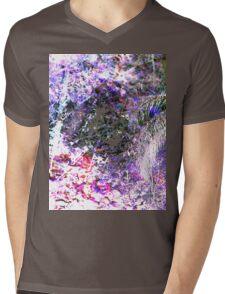 Back To Nature Mens V-Neck T-Shirt