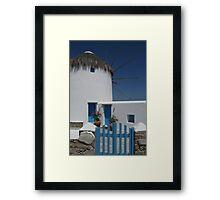 Greek Charm Framed Print