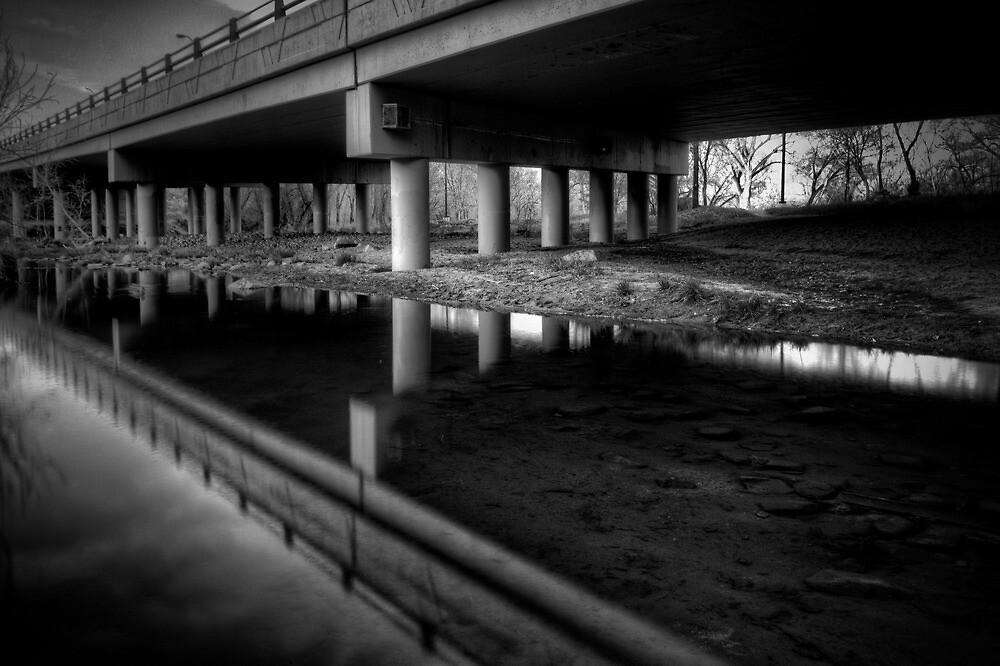 Under Overpass by Bob Larson