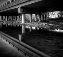 Under Overpass by Bob Larson
