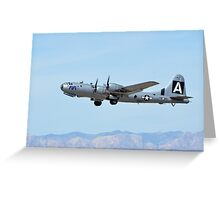 B-29 Superfortress Bomber Greeting Card