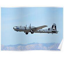 B-29 Superfortress Bomber Poster