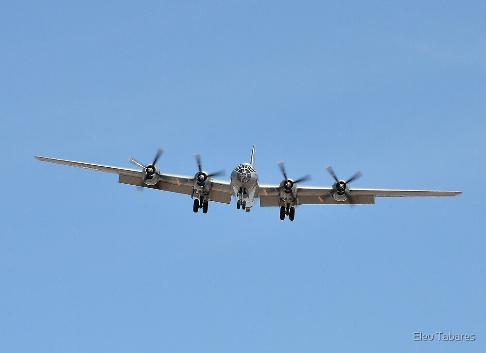 B-29 Superfortress Bomber by Eleu Tabares