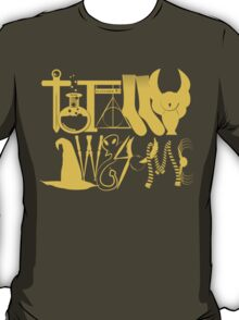 Totally Awesome! *HUFFLEPUFF/ON BLACK* T-Shirt
