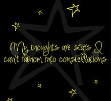 My Thoughts Are Stars by Amichaud