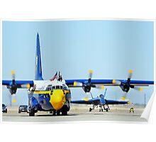 U. S. Navy Blue Angels' Fat Albert Poster
