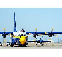 U. S. Navy Blue Angels' Fat Albert Photographic Print