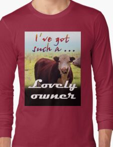 LOVELY OWNER Long Sleeve T-Shirt