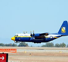 U.S. Navy Blue Angels' Fat Albert by Eleu Tabares