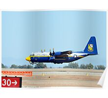 U.S. Navy Blue Angels' Fat Albert Poster