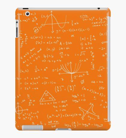 Algebra Math Sheet 3 iPad Case/Skin