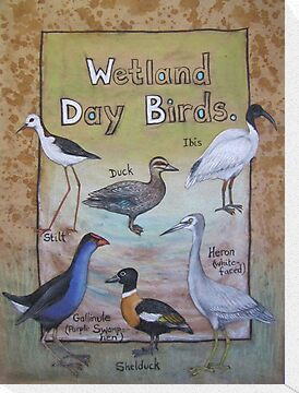 Wetland Day Birds by Thea (tatefox)