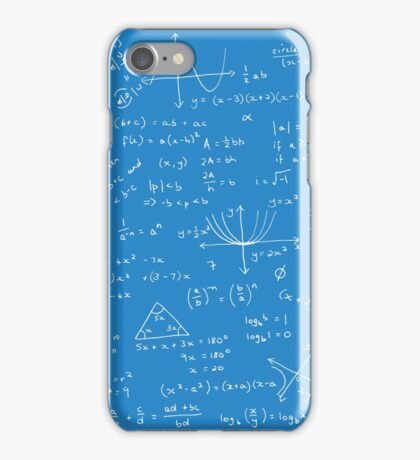 Algebra Math Sheet 2 iPhone Case/Skin