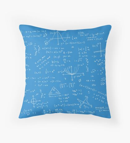 Algebra Math Sheet 2 Throw Pillow