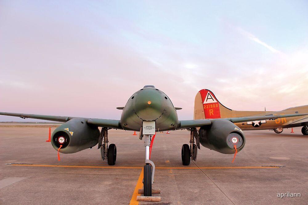 Messerschmitt Me 262 by aprilann