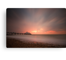 Eastbourne sunrise Canvas Print