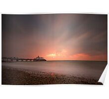 Eastbourne sunrise Poster