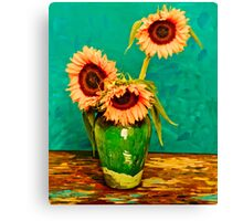 Homage to Vincent Canvas Print