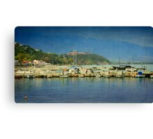 Greek Summer Canvas Print