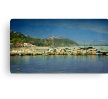 Greek Summer Canvas Print