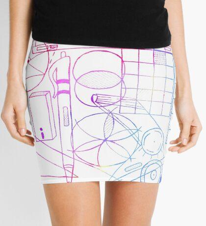 Math & Science Tools 2 Mini Skirt