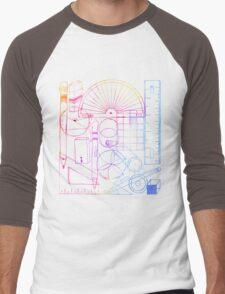 Math & Science Tools 2 Men's Baseball ¾ T-Shirt