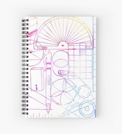 Math & Science Tools 2 Spiral Notebook