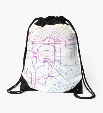 Math & Science Tools 2 Drawstring Bag
