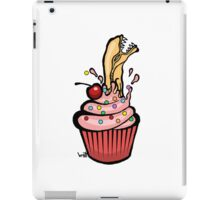 Alien Cupcake iPad Case/Skin