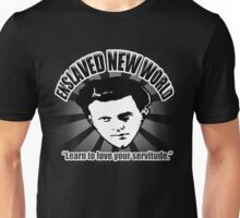 Aldous Huxley's Enslaved New World (Dark) Unisex T-Shirt