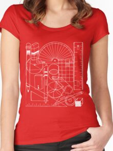 Math & Science Tools 1 Women's Fitted Scoop T-Shirt