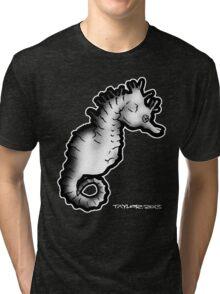 Seahorse 02 Tri-blend T-Shirt