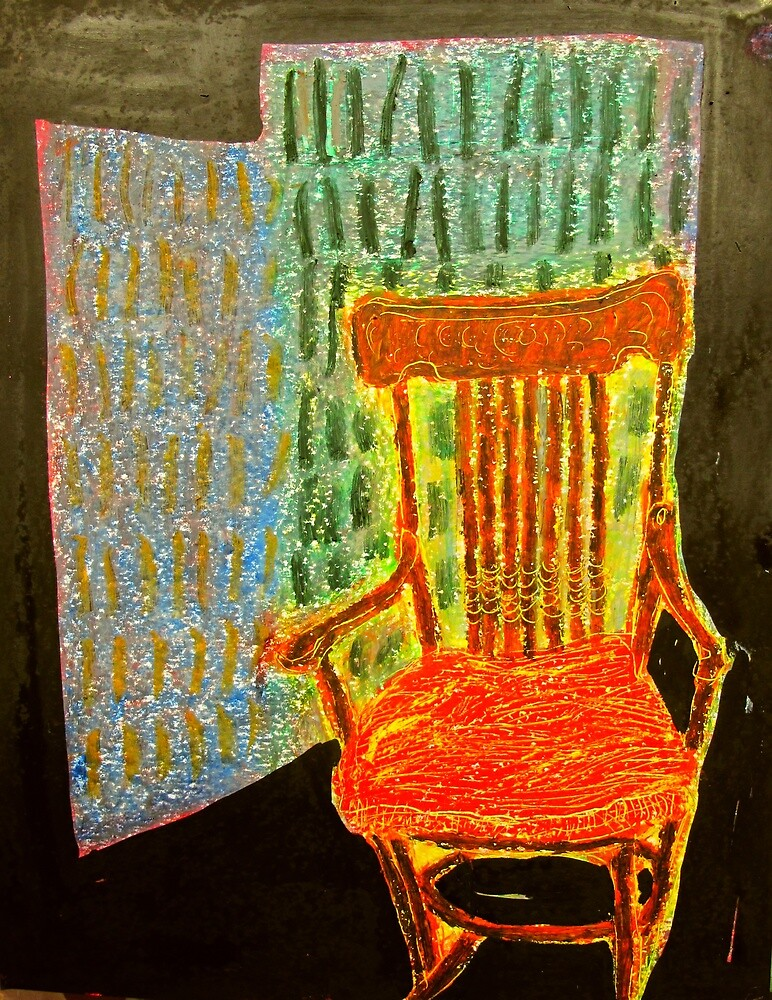 Manning Clark's rocking chair by donna malone