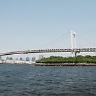 Tokyo Bridge With Island by jojobob