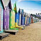 Location, Location, Location - Brighton Beach Boxes - Australia by Norman Repacholi