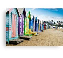 Location, Location, Location - Brighton Beach Boxes - Australia Canvas Print