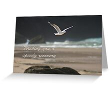 Seagull crossing Greeting Card